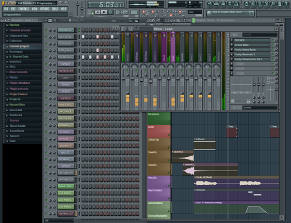 FL Studio 3 اف ال استودیو یا سونار؟