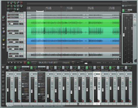 from the web site reaper is digital audio workstation software a complete multitrack audio and midi recording