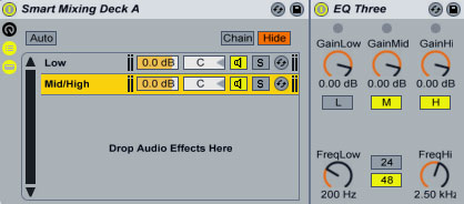 Quick Tip: Smart Mixing in Ableton Live