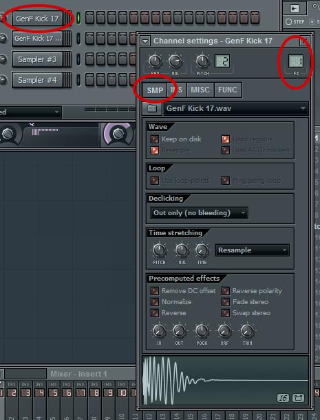 Step 2 - Assign A Mixer Channel