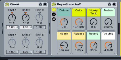 how to create a build up in ableton