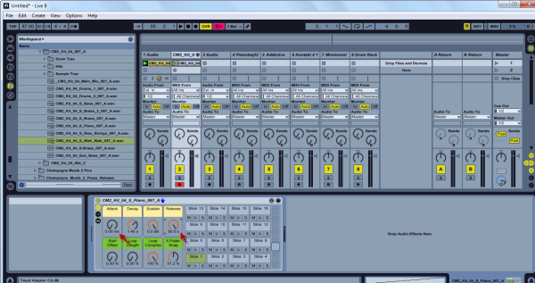 how to cut audio in windows ableton live