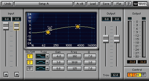 quick tip simple vocal eq compression using waves plugins in reaper. Black Bedroom Furniture Sets. Home Design Ideas
