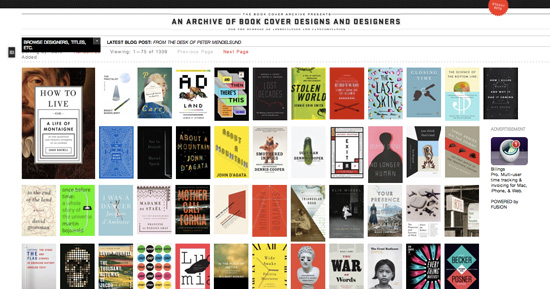 Business Book Cover Archive : Unusual places to get design inspiration studio
