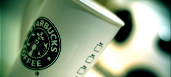 Starbuck's coffee mug