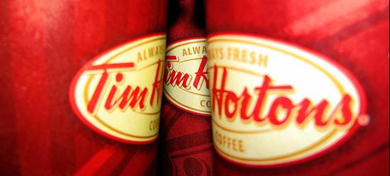 Tim Horton's cups