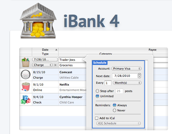 Stock options in ibank