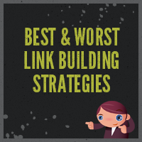 Article best worst link building strategies