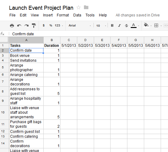 How to create an actionable project plan using a google for How to build a project plan