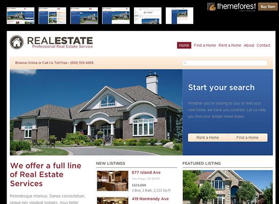 WP Pro Real Estate Theme