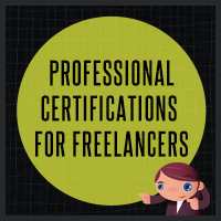 10 professional certifications for freelancers