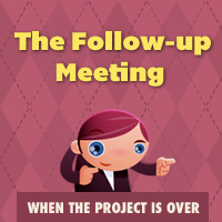 When the project is over followup meeting