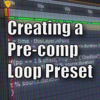 Aetuts preview precomp loop