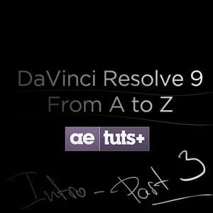 Aetuts retina davinci resolve 3