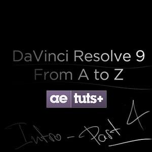 Aetuts retina davinci resolve 4