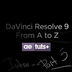 Aetuts retina davinci resolve 5