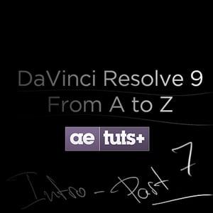 Aetuts retina davinci resolve 7