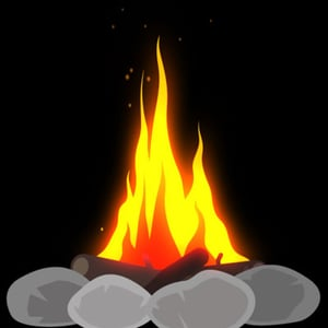 Aetuts retina animated fire