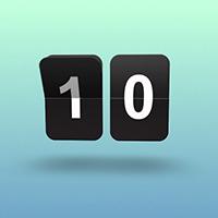 Flip clock screenshot 02