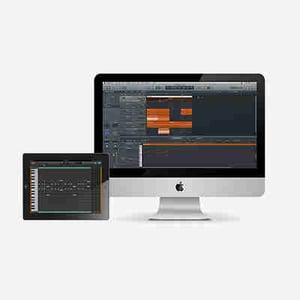 Ipad into composition studio 400b