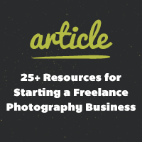 25 photography resources