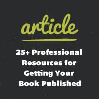 25 professional resources for getting your book published