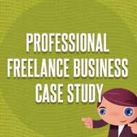 How to write professional freelance business case study