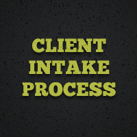 Project setup what your client intake process procedure