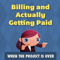 When the project is over billing paid