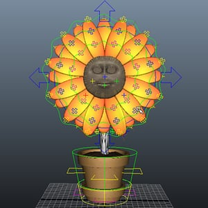 Flower rigging pt2 retina