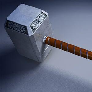 Thor hammer retina