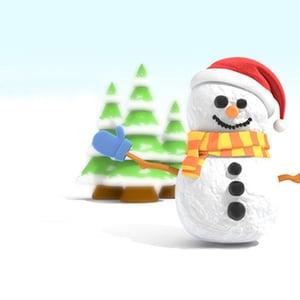 C4d snowman v2 retina