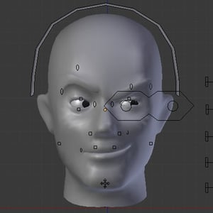 Blender facial animation setup pt1 retina