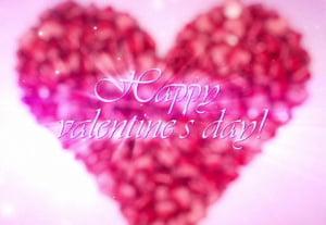 C4d valentines day animation retina