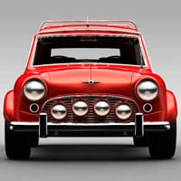3d cg vfx modeling rendering lighting texturing vehicles cars thumb
