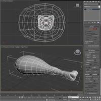 Thumb 3d cg autodesk 3dsmax max pelt mapping quick tip walk through uving texturing