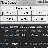 Thumb 3d cg vfx autodesk maya mel tutorial procedural modeling coding scripting script