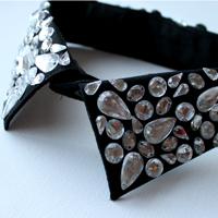Embellished jewelled collar 2005
