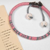 Make a wrapped leather secret code bracelet4 200x200
