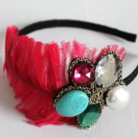 Jewel feather hairband final 200
