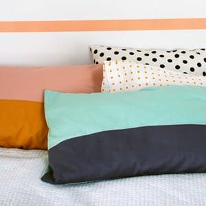 Colour block pillow case tutorial400