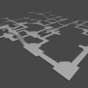 Procedural content generation 3d dungeon maps 400px