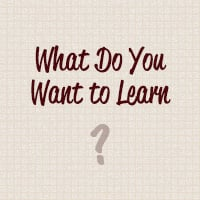 Whattolearn