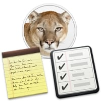 Mountainlion reminders notes