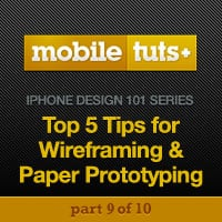 5 steps for wireframing and paper prototyping mobile apps 2