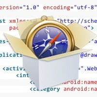 Android webview webkit code preview