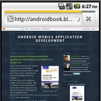 Android browser webview preview