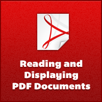 Displaying pdfs