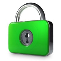 Password protect folders