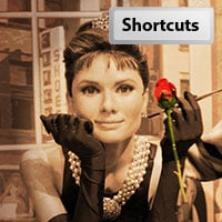 Shortcuts 28 align preview